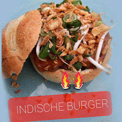 Indoburger Lunch